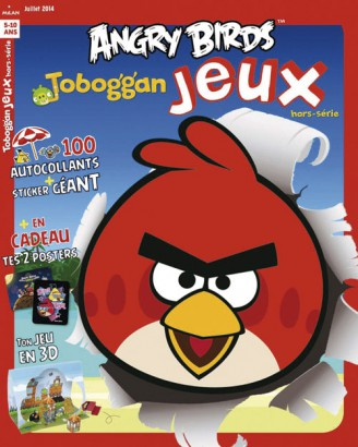 Toboggan Jeux Angry Birds