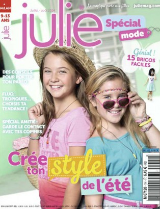 julie magazine mode ete