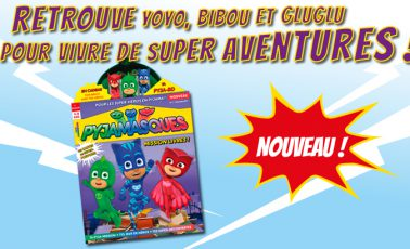 magazine officiel pyjamasques