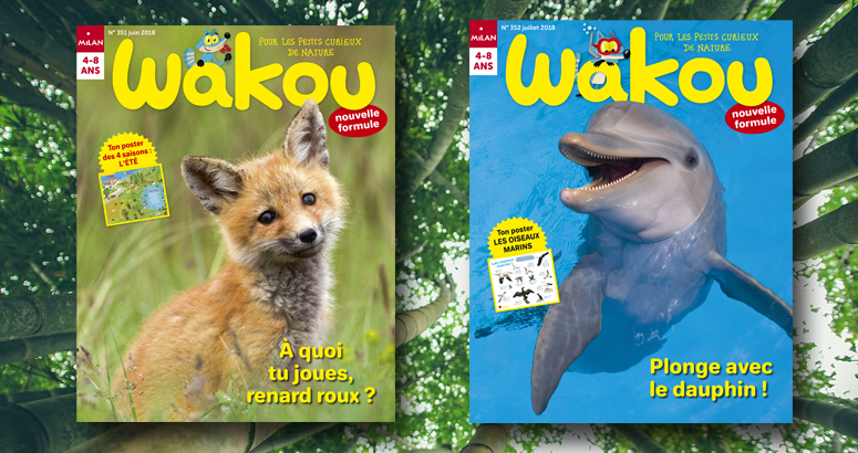 Wakou magazine nature enfant