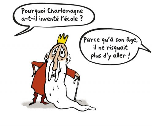 toto charlemagne blague