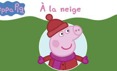 peppa pig neige video