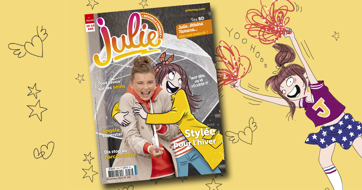 julie magazine