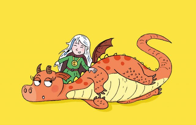 Moün et son dragon - magazine Manon