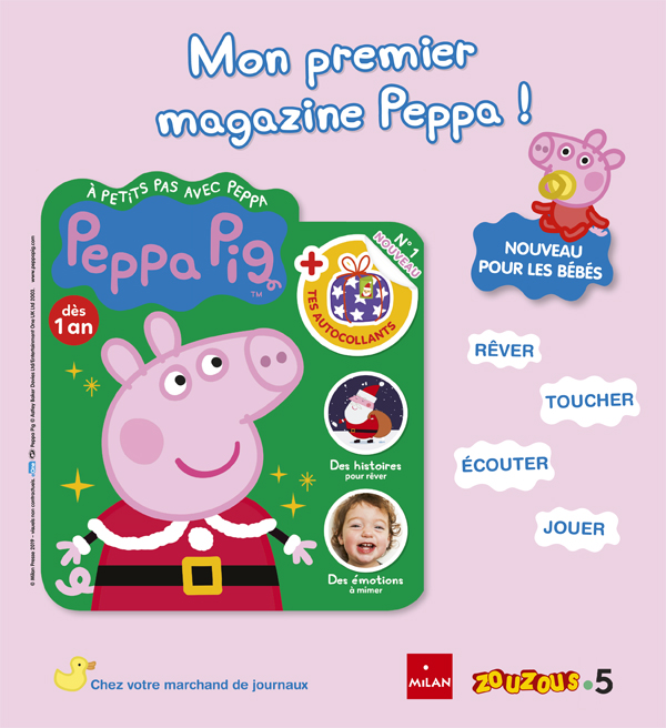 Peppa First bébé magazine