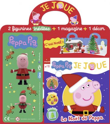 peppa je joue figurines peppa