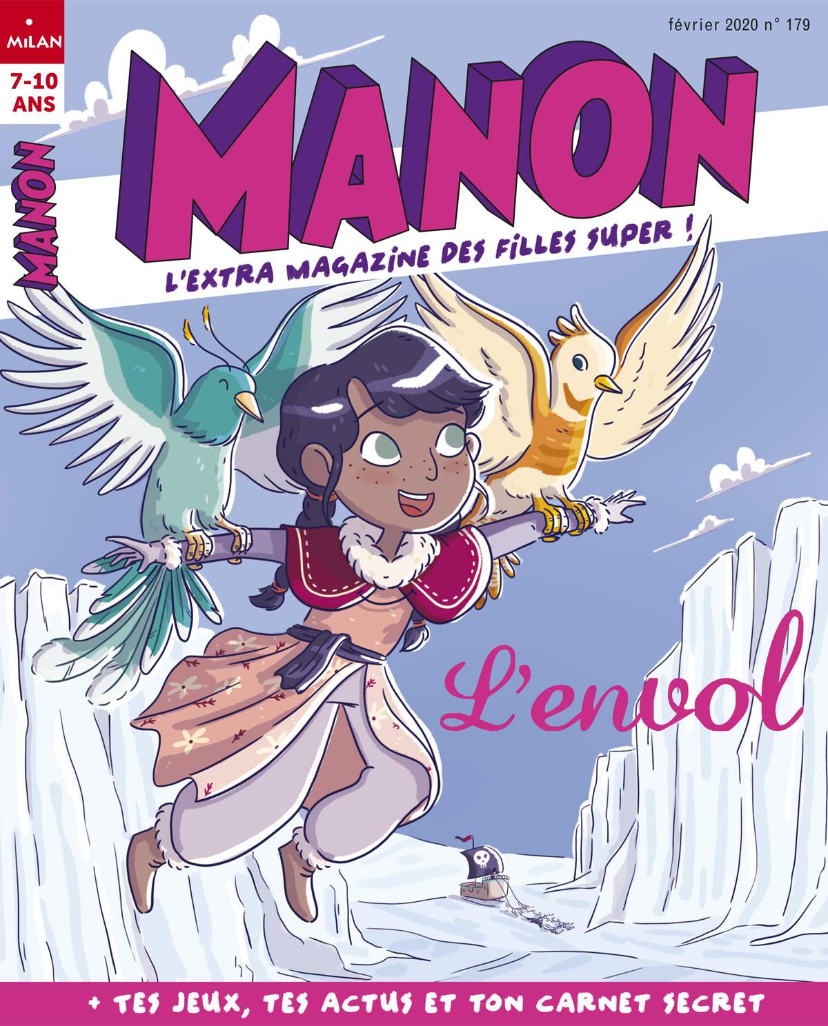 manon magazine abonnement