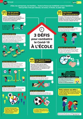 Poster gestes barrieres