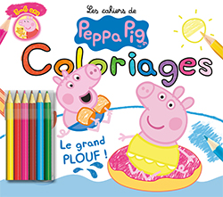 peppa pig coloriage