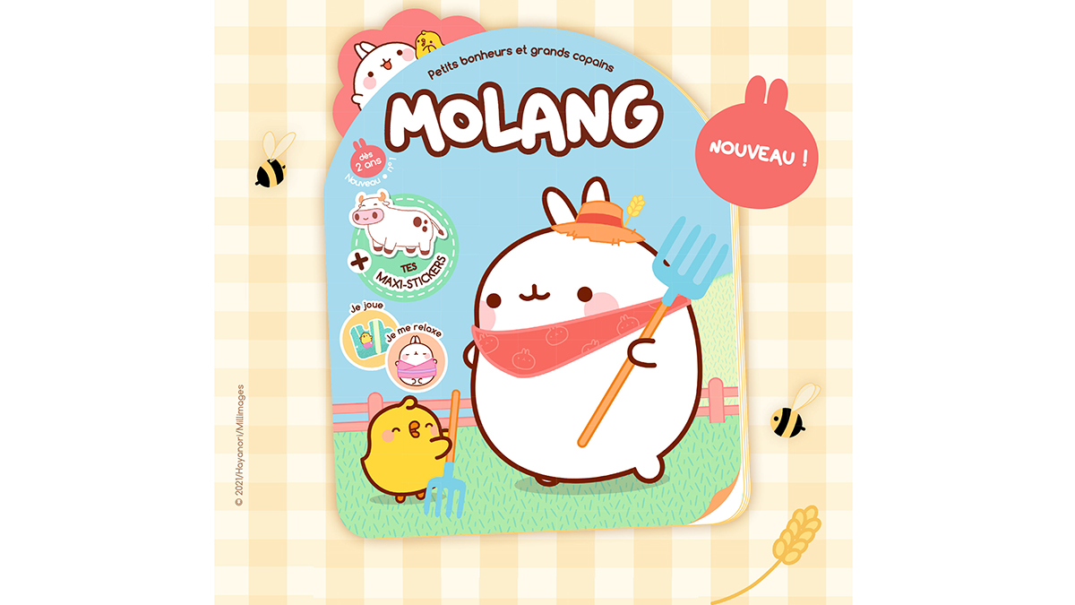 Molang magazine officiel